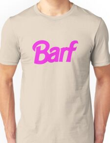 Barf Barbie Nicki  Unisex T-Shirt