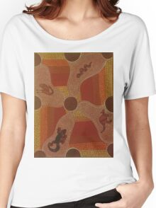 Aboriginal Animals Women's Relaxed Fit T-Shirt
