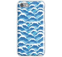 sea wave pattern iPhone Case/Skin