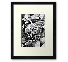Form Study. Framed Print