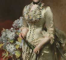 John Singer Sargent (1856–1925), Mrs. Jacob Wendel,1888. Oil on canvas. by Adam Asar