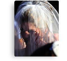 Wedding tear Canvas Print