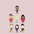 The Parks and Rec Crew by jehnner