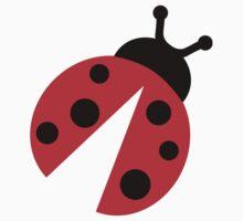 Comic ladybug Baby Tee