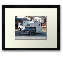 Redneck Limo Framed Print