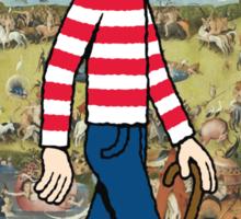 Garden of Waldo Delights Sticker
