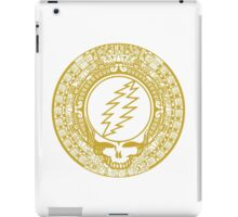 Mayan Calendar Steal Your Face - GOLD iPad Case/Skin
