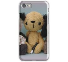 Sooters, Sweepers and Sooze. Handmade bears from Teddy Bear Orphans iPhone Case/Skin