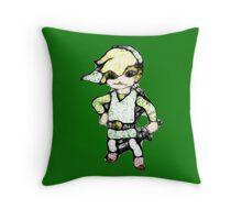 Scribbler Toon Link Throw Pillow