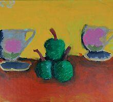 Still Life by Zoe Thomas Age 6 by Julia  Thomas