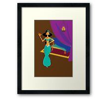 Origami - Jewel of Middle East Framed Print