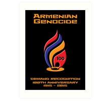Armenian Genocide 100yr Anniversary Art Print