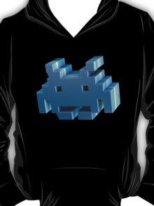 3d Space Invader. T-Shirt