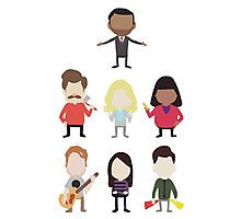 The Parks and Rec Crew - Big Photographic Print