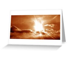 Skyscape v10 Greeting Card