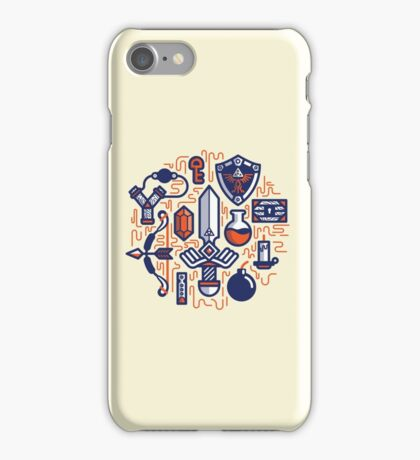 Zelda Essentials iPhone Case/Skin