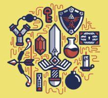 Zelda Essentials Kids Clothes
