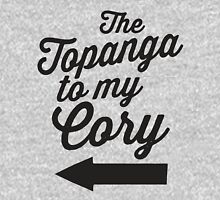 The Topanga To My Cory / Boy Meets World / Girl Meets World / The Cory To My Topanga Couples Matching Shirts T-Shirt