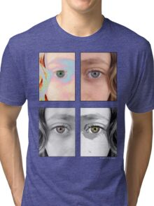 Girls Eyes Four Tri-blend T-Shirt