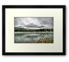 Patricia Lake - Jasper National Park Framed Print