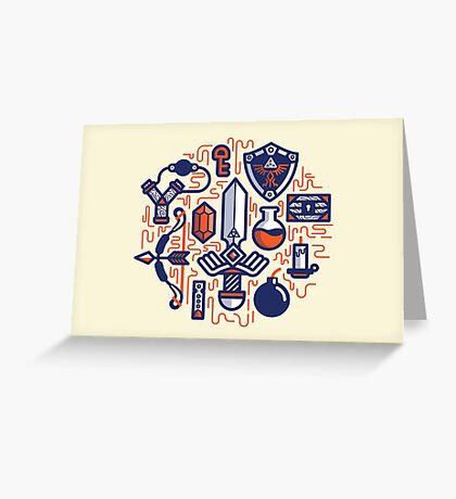 Zelda Essentials Greeting Card