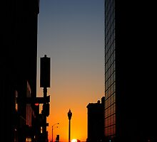 Sundown Downtown by CjbPhotography