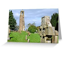 St. Ninians (old) Kirk Greeting Card