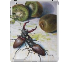 """ Kiwis and Stag Beetles ( Struggle for Constancy)"" iPad Case/Skin"