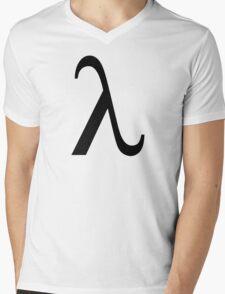 Lambda Mens V-Neck T-Shirt