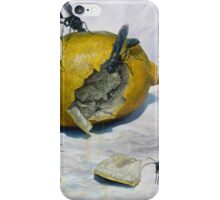Lemon and Mud Daubers iPhone Case/Skin