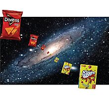 Celestial Snacks Photographic Print