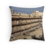 St.Elmo barracks, Valletta, Malta Throw Pillow