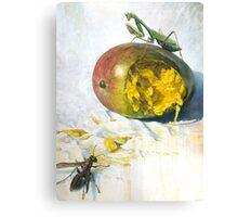 """Mango and Mantis"" Canvas Print"