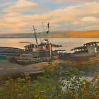Fishing Boat - Scotland by Dave Mortell