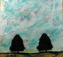 Cypress Trees by kareywalter