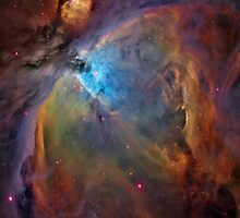 Orion Nebula by InTheMomentArt