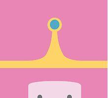 Minimalist Princess Bubblegum by atomickid
