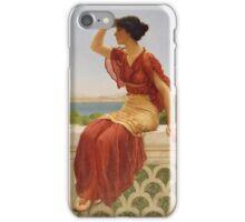 John William Godward (English, 1861-1922), The Signal iPhone Case/Skin