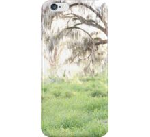 golden greenery iPhone Case/Skin