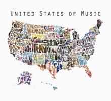 United States of Music T-Shirt