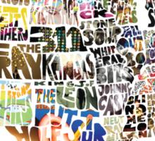 United States of Music Sticker