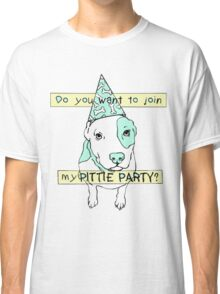Pittie Party Classic T-Shirt