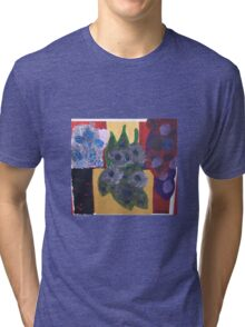 flower pot friends Tri-blend T-Shirt