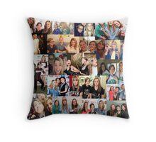 Holy Trinity Collage Pillow Throw Pillow