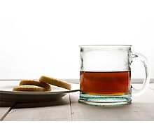 Tea and Cookies Photographic Print