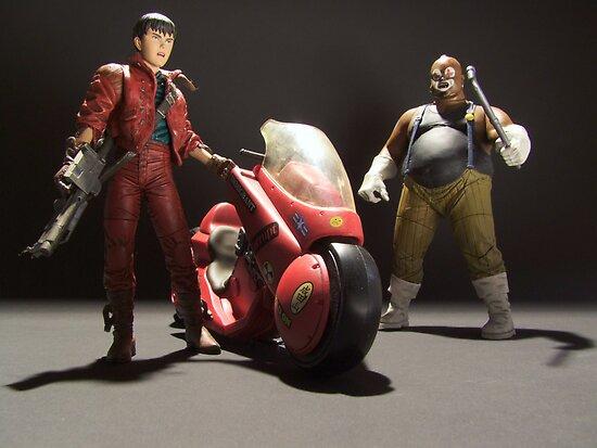 Kaneda vs Joker Gang Leader by Ken Thomas Photography