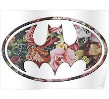 Floral Batman #2 Poster