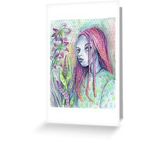 Garden Creep  Greeting Card