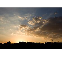 Sunset over Jerash Photographic Print