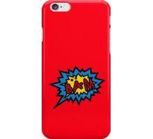 BAM! iPhone Case/Skin